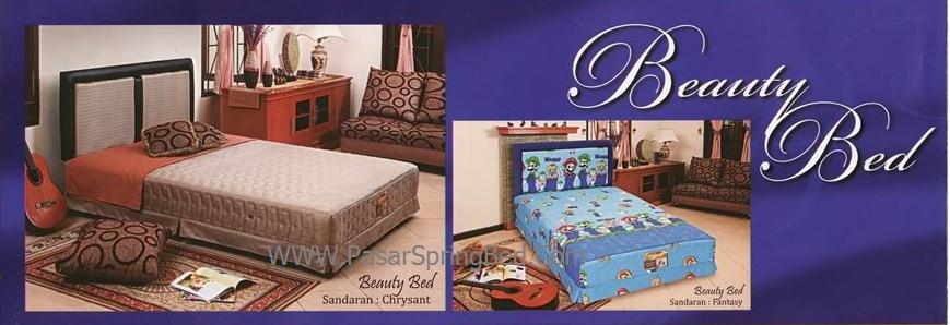 UNILAND Beauty Bed Spring Bed - Headboard Chrysant Fantasy - toko springbed jual springbed harga springbed murah dijual springbed