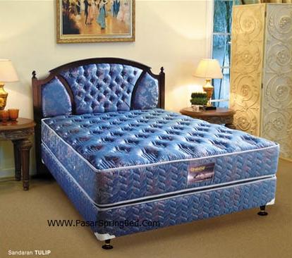 UNILAND Symphony  - Headboard Tulip  Spring Bed - toko springbed jual springbed harga springbed murah dijual springbed