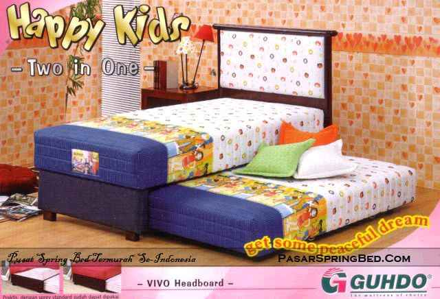Guhdo Happy Kids 2in1 - Headboard Vivo - toko springbed jual springbed harga springbed murah dijual springbed 1
