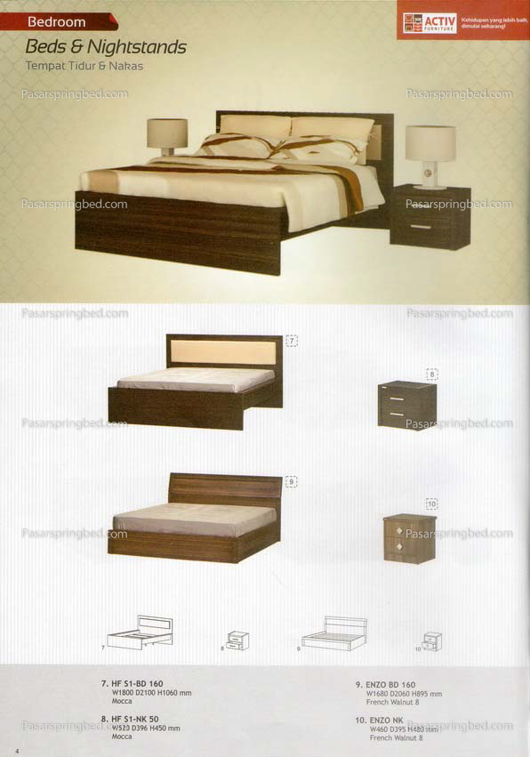 ACTIV Beds & Nighstand 1