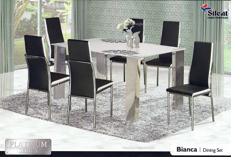 SILENT DinningSet Bianca